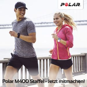 Polar M400 Staffel durch ganz Deutschland